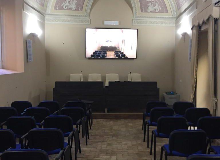 La nuova sala convegni Isma dedicata al Sindaco Crestini eroe di Rocca di Papa.
